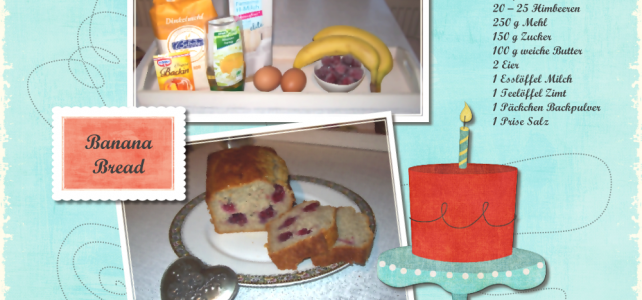 Banana-Raspberry Bread