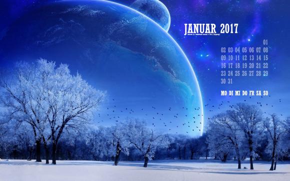 Kalenderblatt - Januar 2017