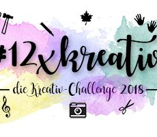 Creative Challenge by Anne – #001 Blogger*Kalender