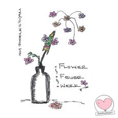 DoodlesToYou #001 – Feuerwerk