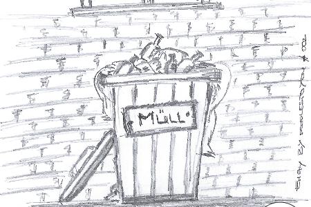 DoodlesToYou #002 – Müll