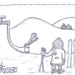 DoodlesToYou No 002 - Skifahren
