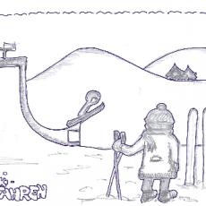DoodlesToYou #003 – Skifahren