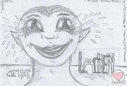 DoodlesToYou #006 – Lachen