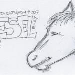 DoodlesToYou No 007 - Esel