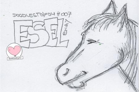 DoodlesToYou #007 Esel