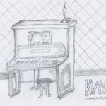 DoodlesToYou No 008 - Klavier