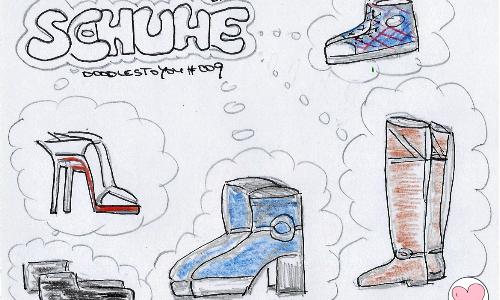 DoodlesToYou #009 Schuhe