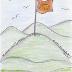 DoodlesToYou No 014 - Flagge