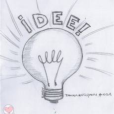 DoodlesToYou #021 Idee