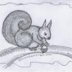 DoodlesToYou No 022 - Eichhörnchen
