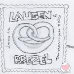 DoodlesToYou No 023 - Laugenbrezel