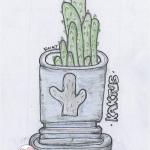 DoodlesToYou No 026 - Kaktus