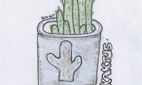 DoodlesToYou #026 Kaktus