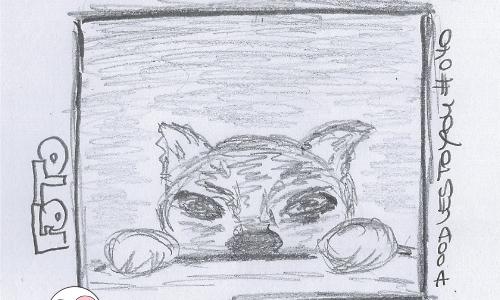 DoodlesToYou #040 Foto …oder wer andern eine Grube gräbt…