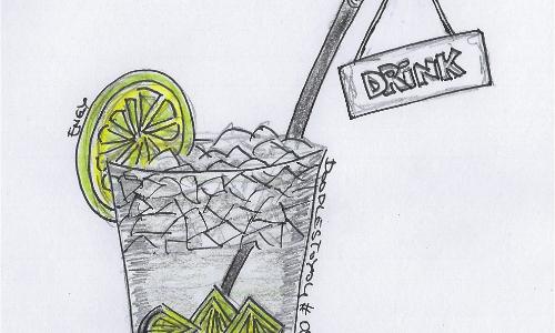 DoodlesToYou #050 Drink