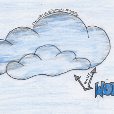 DoodlesToYou #053 Wolken