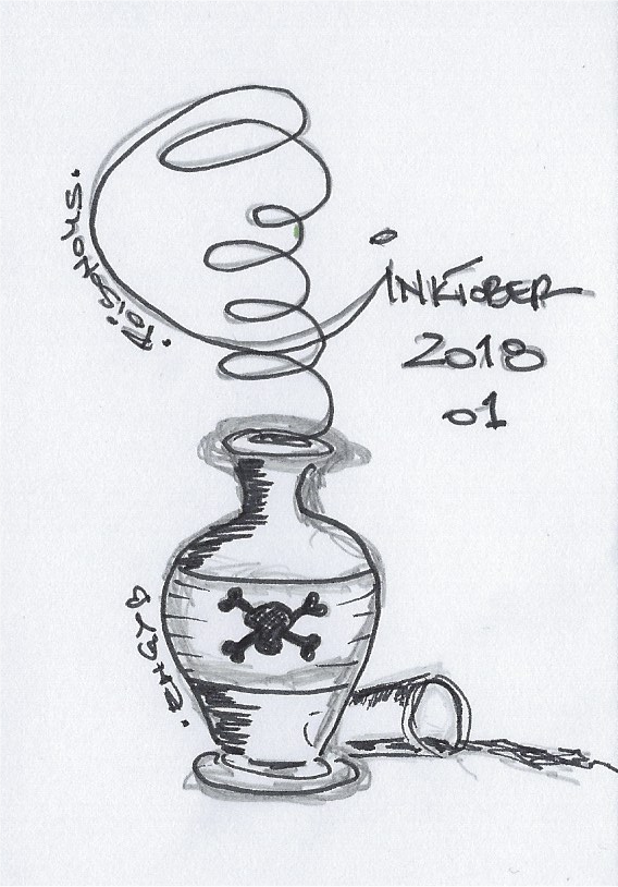 Inktober 2018 – 01 giftig