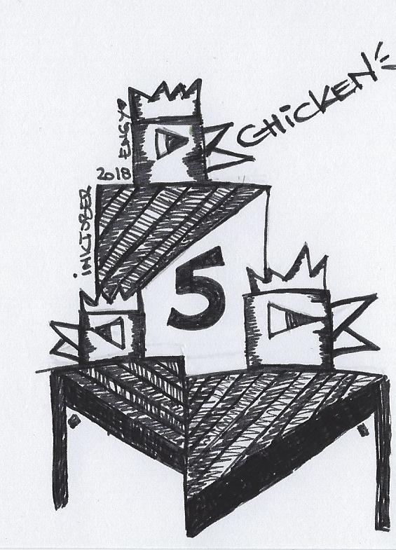 Inktober 2018 – 05 Hühnchen