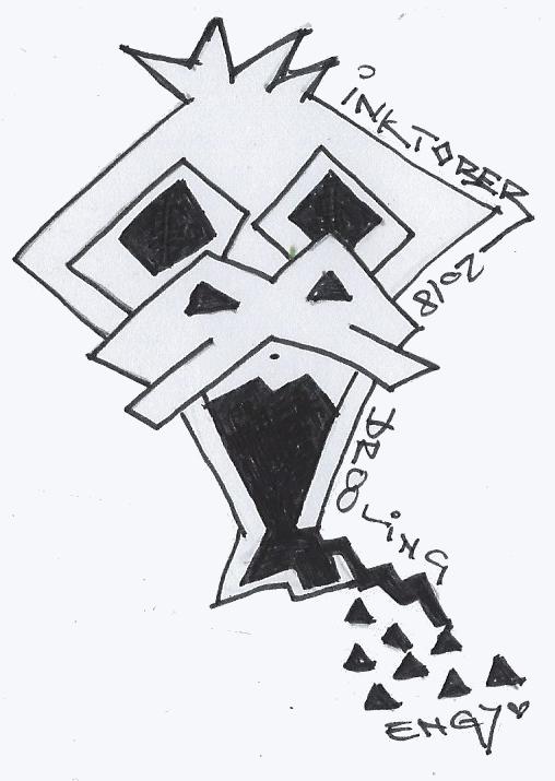 Inktober 2018 – 06 sabbern