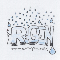 It's raining…